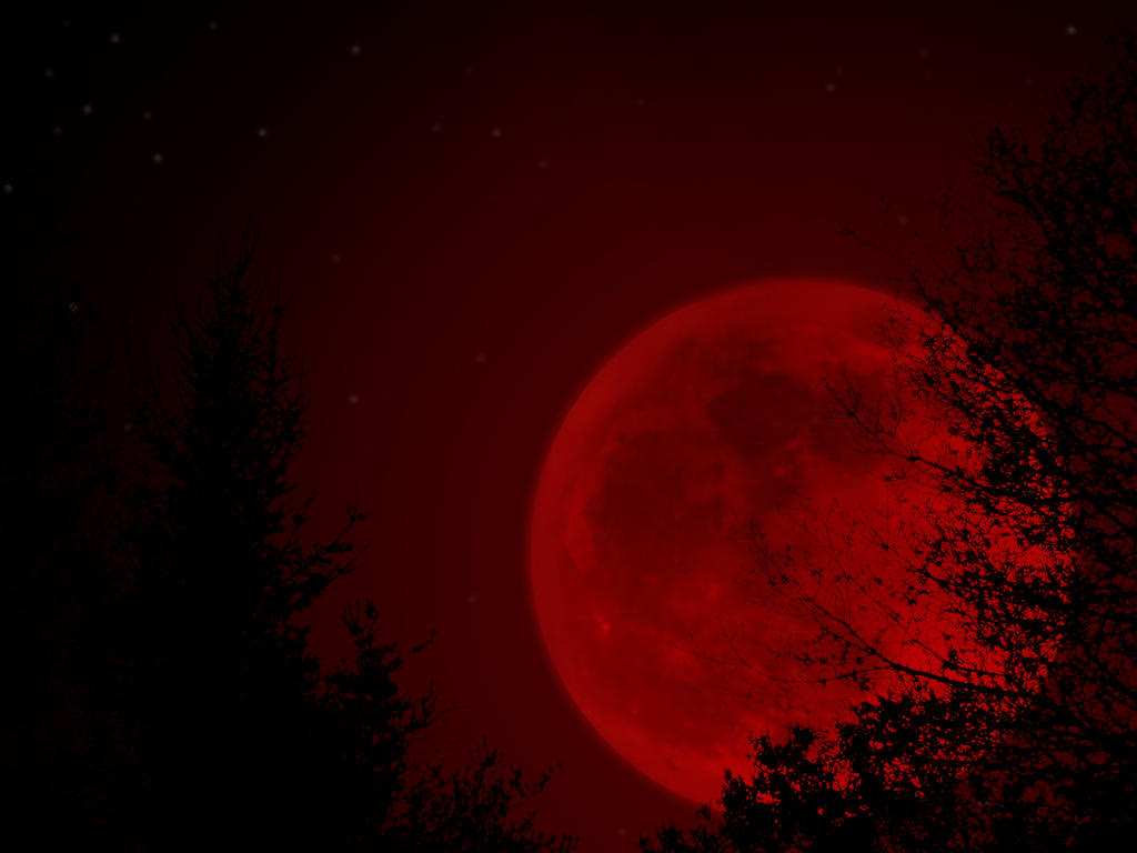 Red Moon Wallpaper: Red Moon Rising By Fallen0dream On DeviantArt