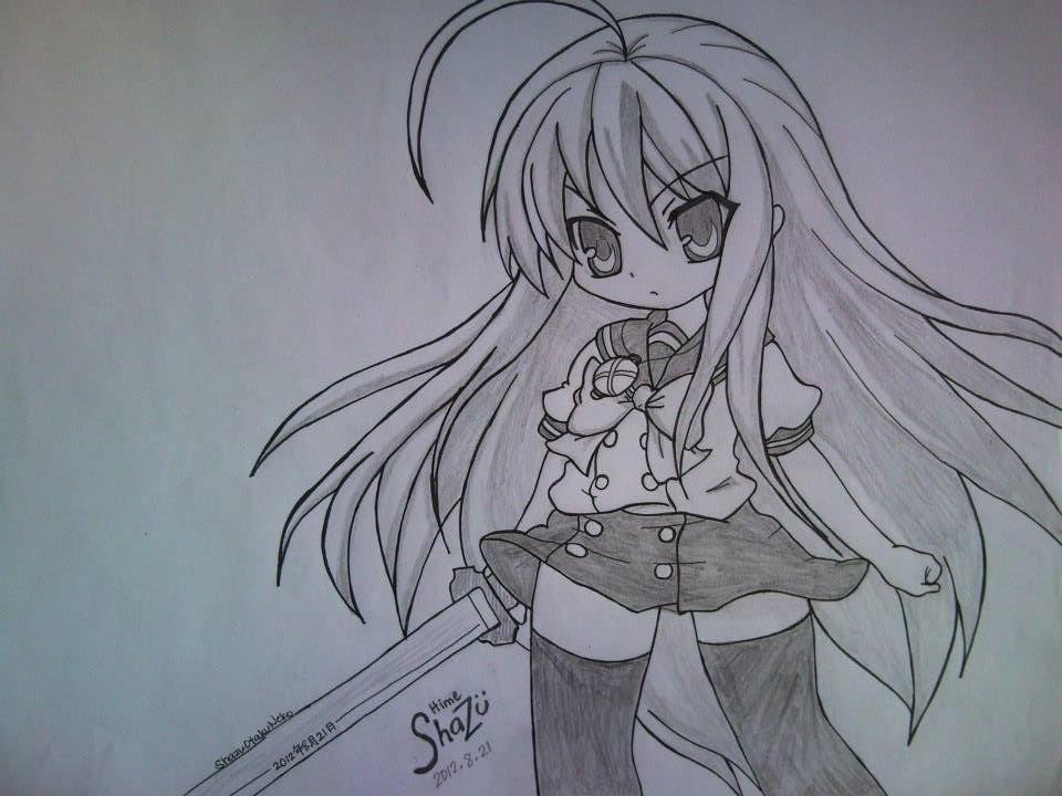 Shana by tsunderehimeshazu