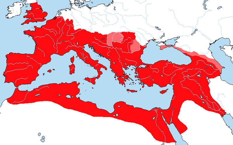 roman empire to 117 ad map Map Of The Roman Empire 117 A D Clients Also By Sharklord1 On roman empire to 117 ad map