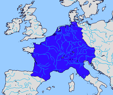the rise of the carolingian empire The relationship between the carolingian empire and the catholic church was  one of mutual benefit and political expediency: the papacy gave spiritual.