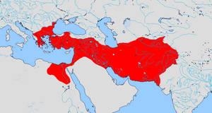 Empire of Alexander (Macedonian Empire) 323 B.C.