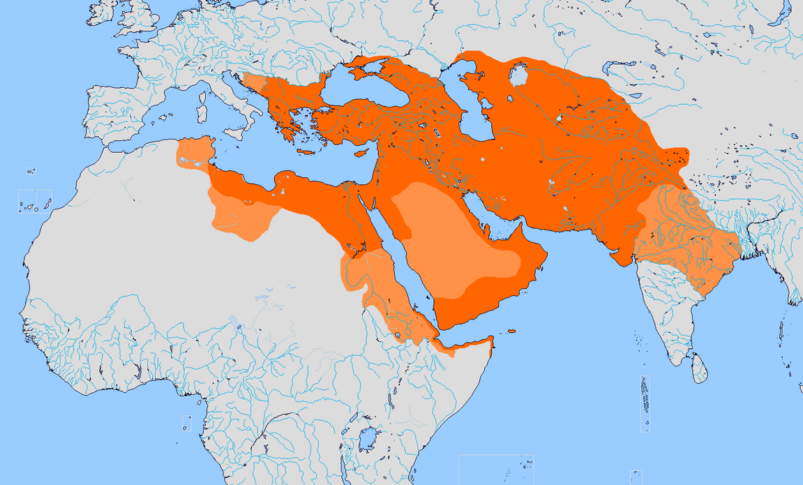 ALT Greater Persian Empire By Sharklord On DeviantArt - Persian empire map