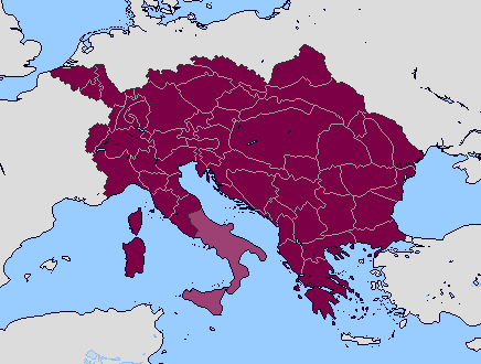 Alt - Greater Austrian Empire by Sharklord1