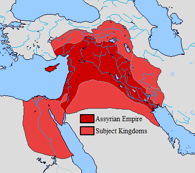 Neo Assyrian Empire (911-609 B.C.) by Sharklord1