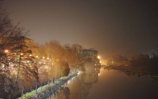 Ivrea by night..