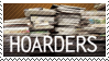 Hoarders Stamp by SqueezyBat