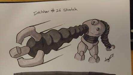 Inktober # 26 - Stretch