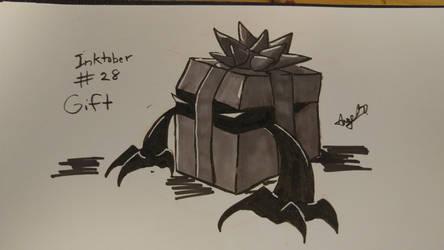 Inktober # 28 - Gift