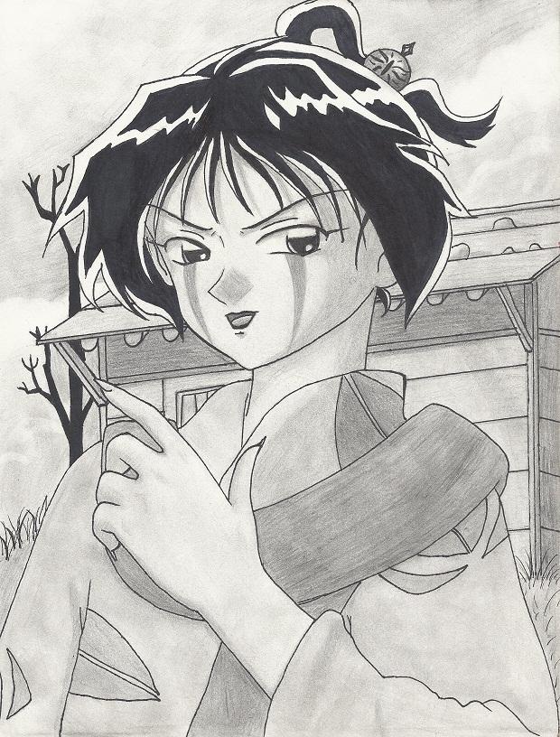 Jakotsu. by Sgt-Spaz