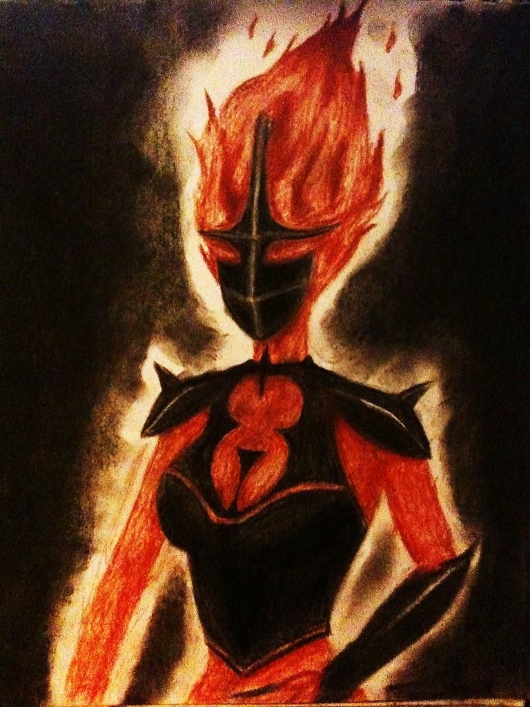 Flame Atronach by Sgt-Spaz