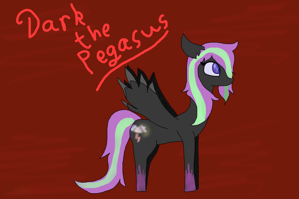 Dark Does Requests!~ Remaking_old_characters_2__dark_the_pegasus_by_stabbedblackcelebi-d8scci1