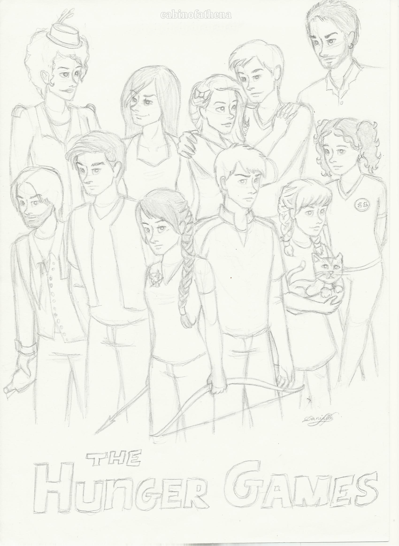 The Hunger Games By Danydaniella On Deviantart