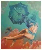 Broken Umbrella by NataliaRak