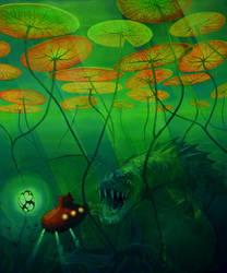 Juliusz Verne's dream by NataliaRak