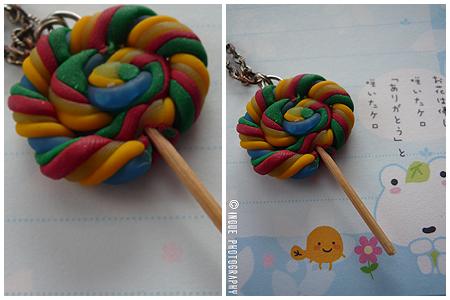 colour lollipop charm by maajonez