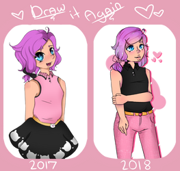 Draw it again! :D maeve edition by Lizz-Butt
