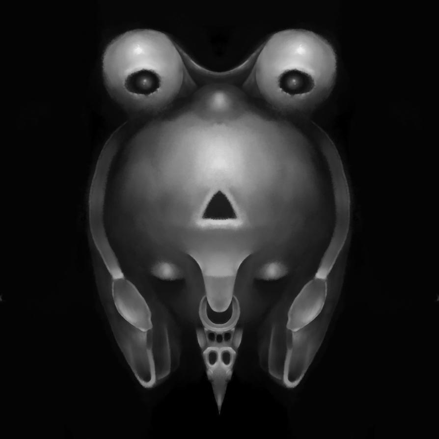 Ancient Alien Artifact by ClaytownPaintings