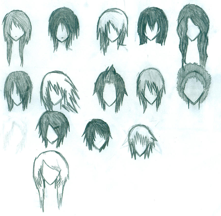 Anime Hair By Elixcon On Deviantart
