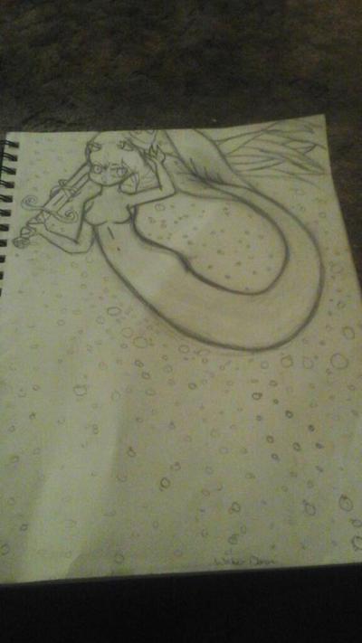 Demon of Water by FoxyFan42