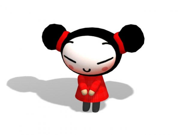 Pucca by b3dsign