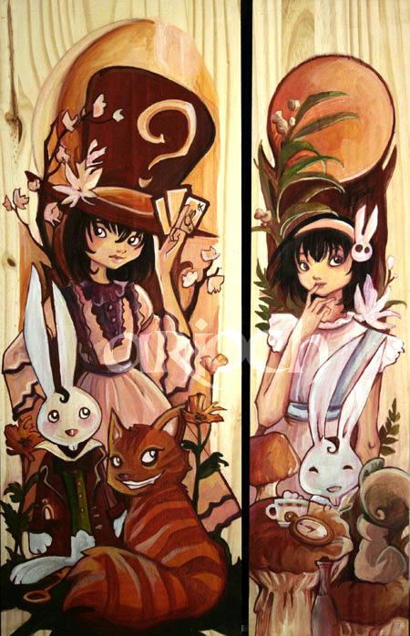 Alice in Wonderland by Ariochdesign