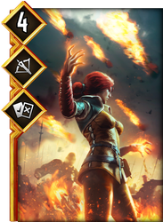 Triss: Mistress of Magic by vitalyaya