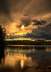 Sky is on fire by Swen88