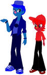 Grover And Elmo Equestria Girls