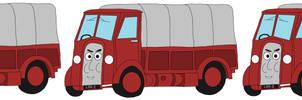 The 3 Horrid Lorries [Tarpaulin]