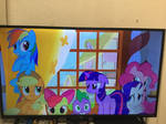 Ponies Looking Scared
