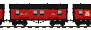 Me In My LMS Patriot [Mail Train]
