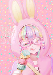 Pastel Girl Challenge by Black-Bamboo
