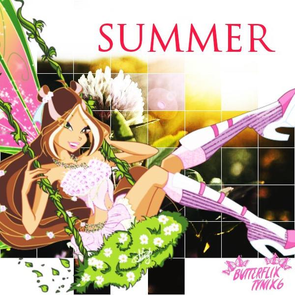 WinxClub Flora (Summer) by ButterfixTynix6