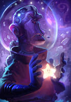 Space Monkey by dawor