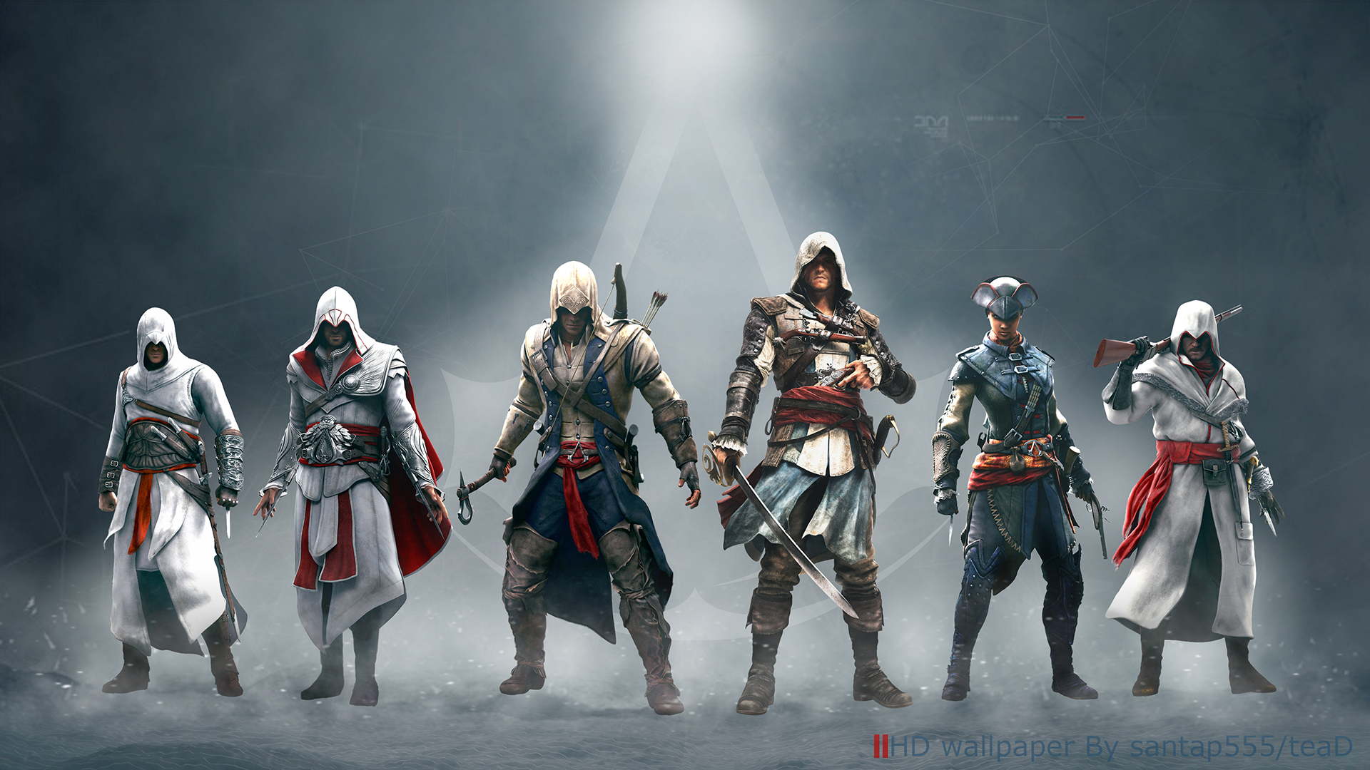 Assassin S Creed Wallpaper By Tead By Santap555 On Deviantart