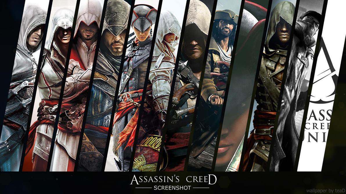 Assassins Creed Screenshot Promo Wallpaper By Santap555