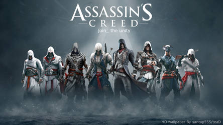 Assassin's Creed HD wallpaper 1 by teaD by santap555