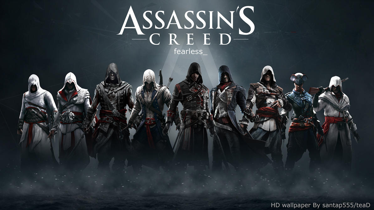Assassins Creed HD Wallpaper 2 By TeaD Santap555