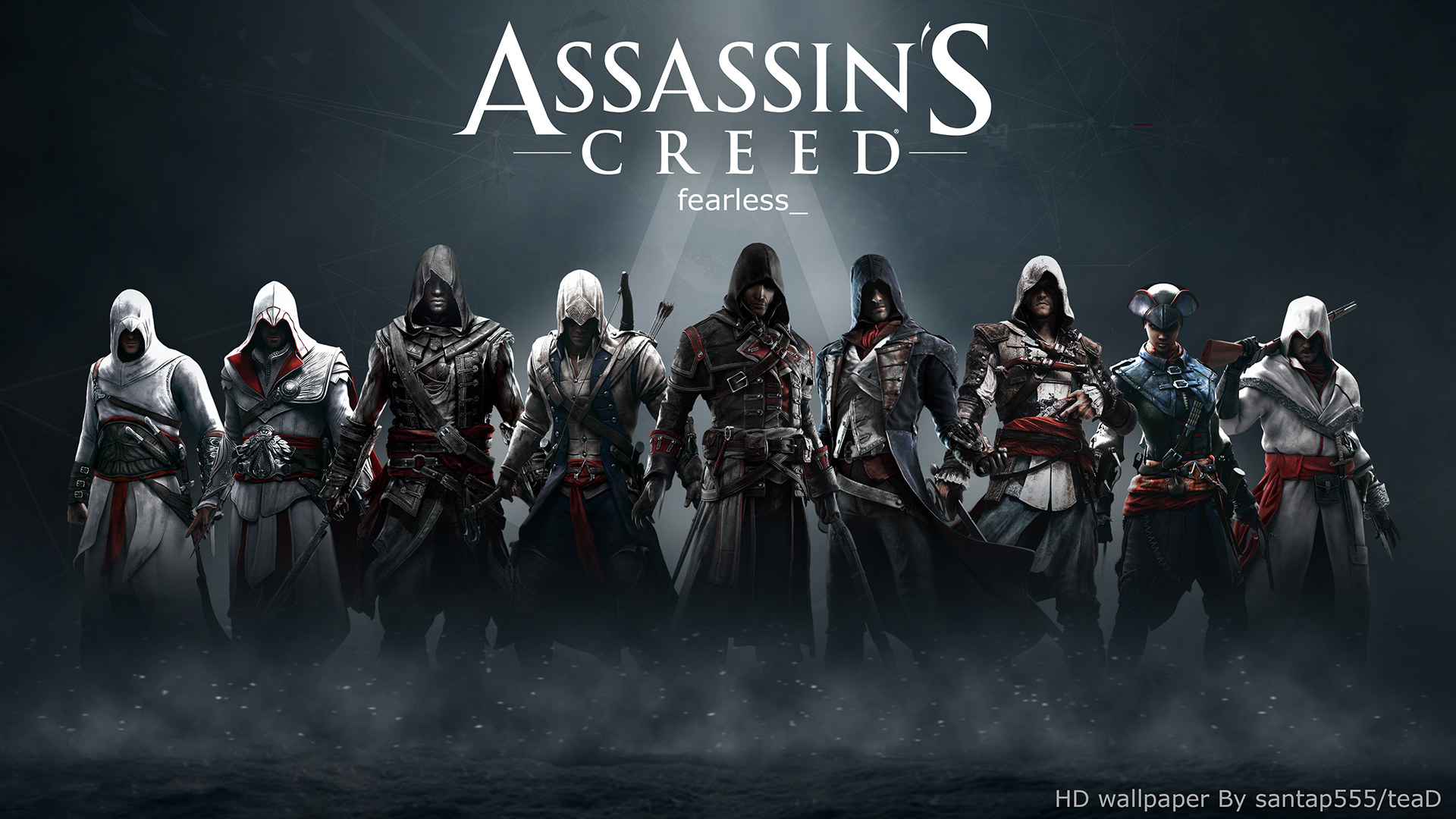 Assassin's Creed HD Wallpaper 2 By TeaD By Santap555 On