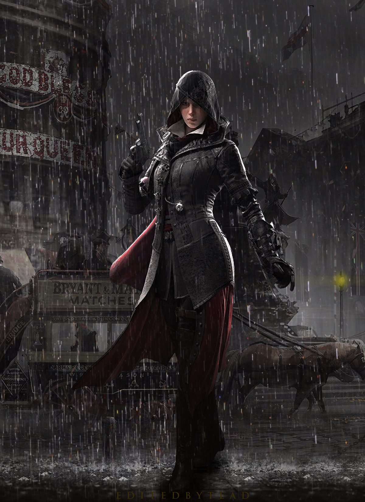 Evie frye the victorian assassin by santap555 on deviantart - Evie wallpaper ...