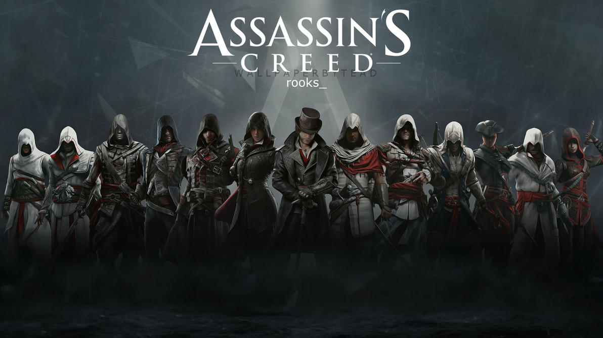 assassin's creed hd wallpaper 5teadsantap555 on deviantart