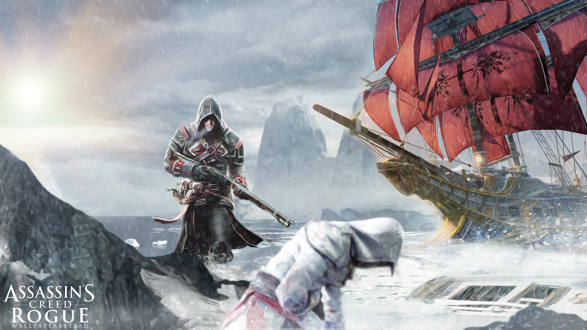 ... Assassin's Creed Rogue wallpaper by teaD by santap555