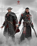 Assassin's Creed Haytham and Shay