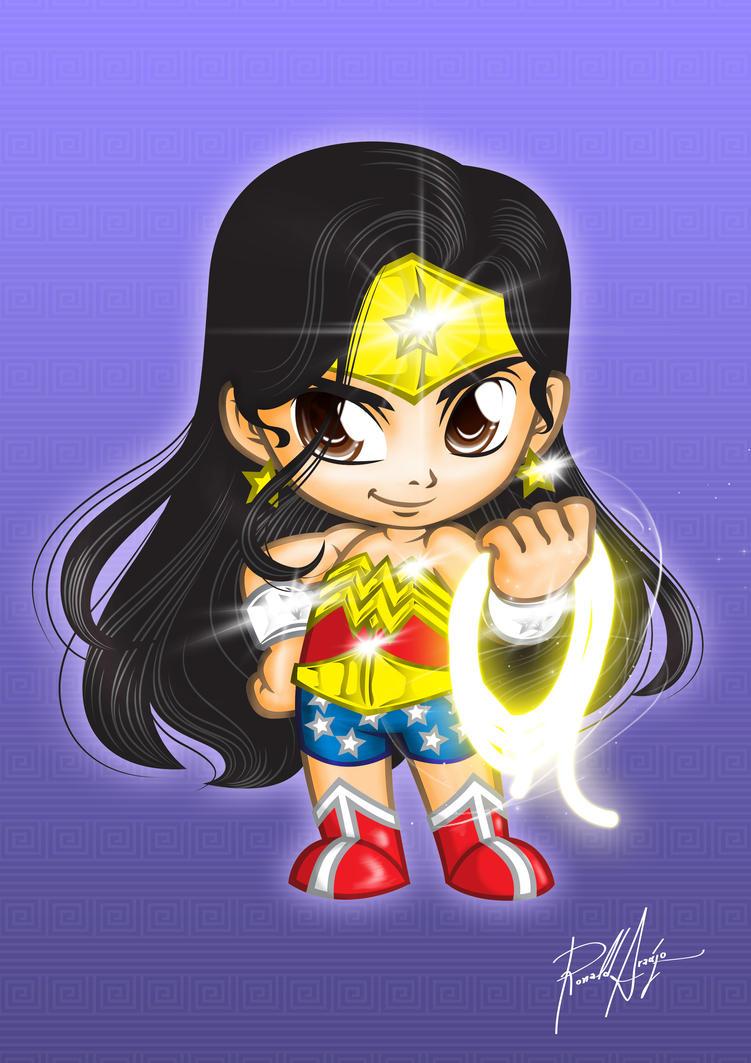Chibi Wonder Woman by utherdrake on DeviantArt