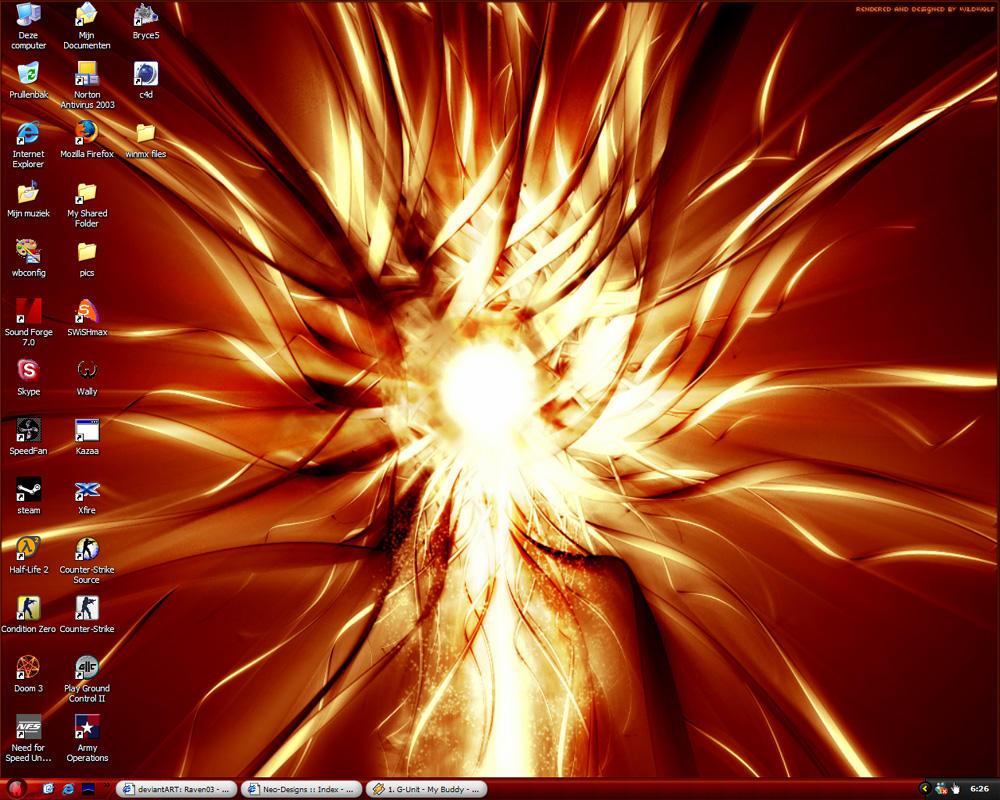 Current Desktop by Raven03