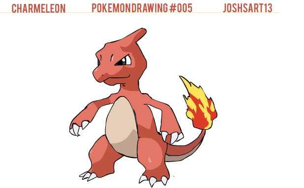 Cute Charmeleon Pokemon Images | Pokemon Images