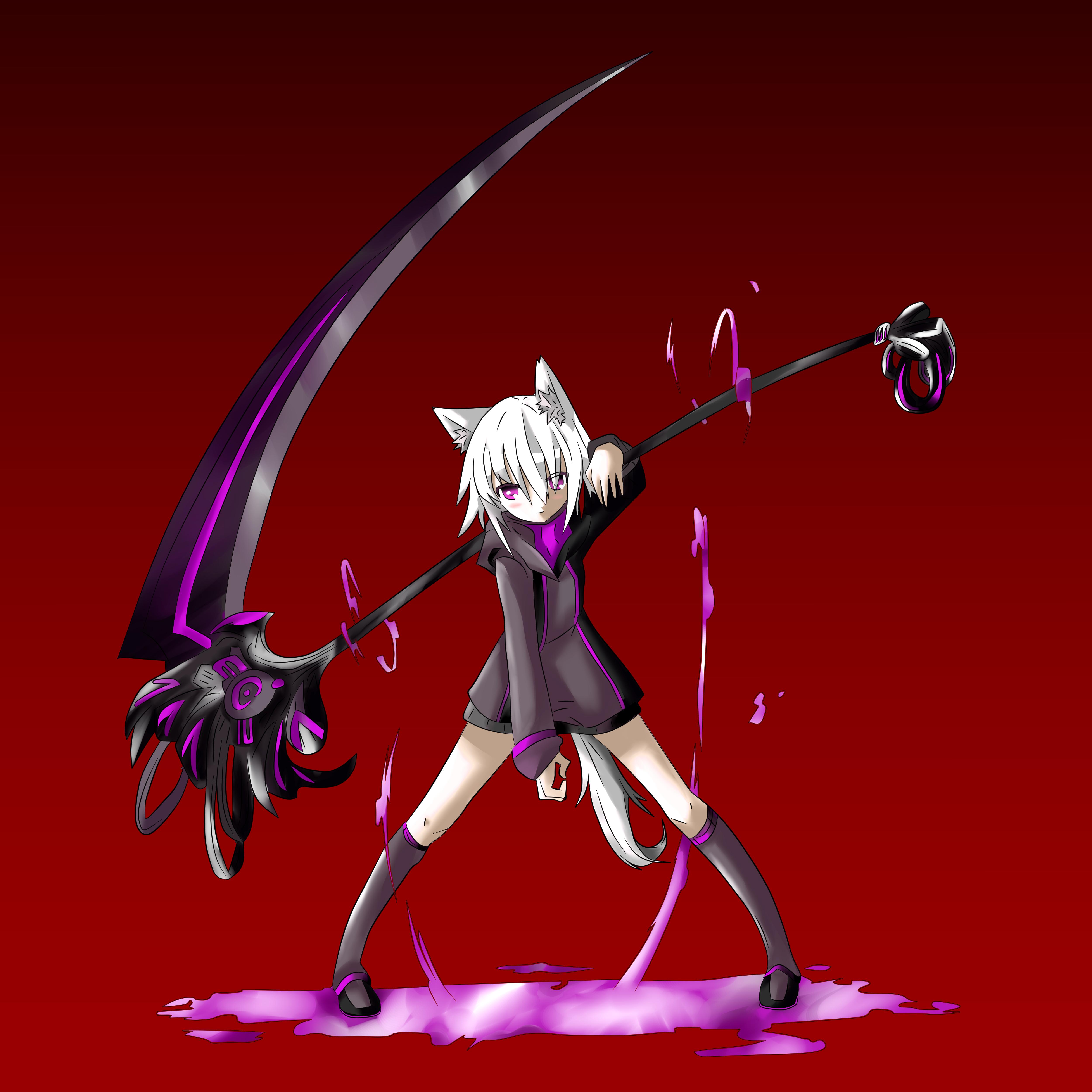 Soul Eater Girl Cat