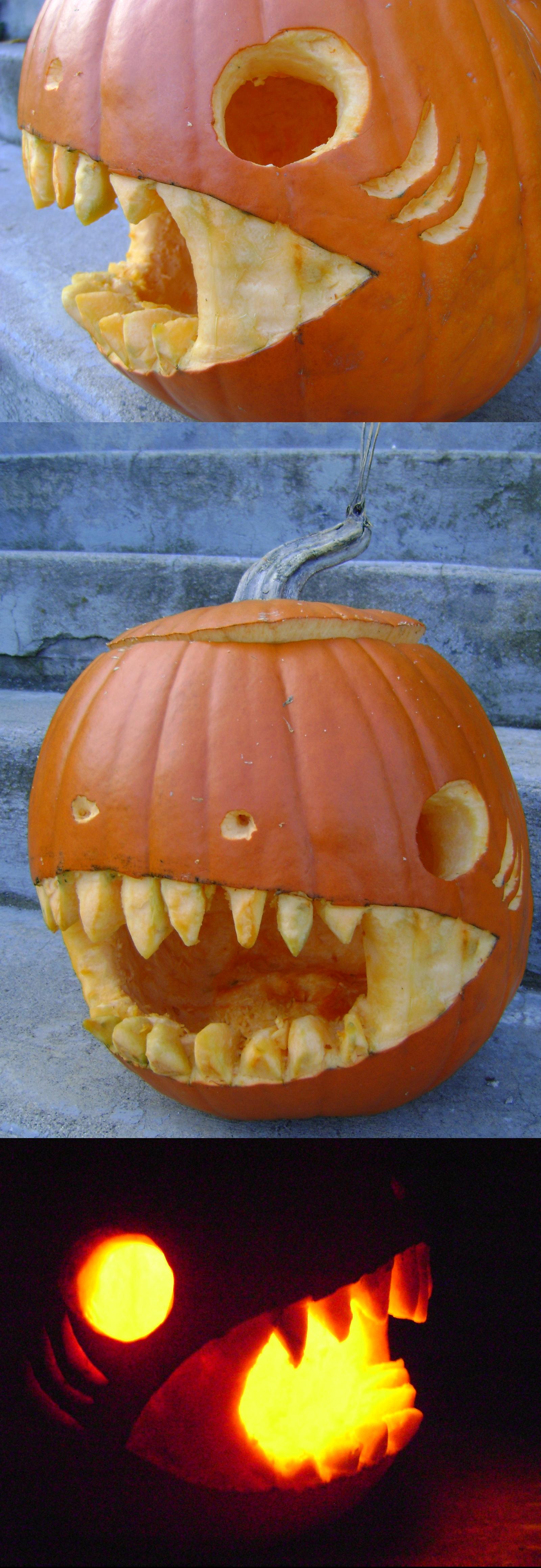 Shark Pumpkin by DeathPhantom