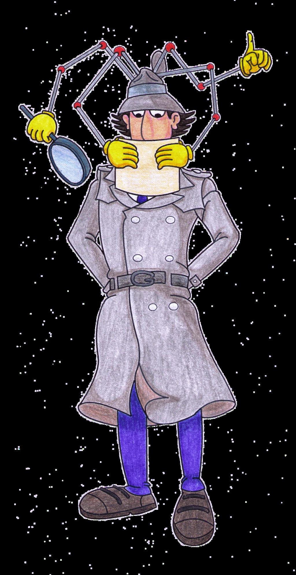 Inspector Gadget - Cassical Cartoons Collab by MoonyMina ...