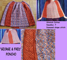 ''George and Fred'' Poncho